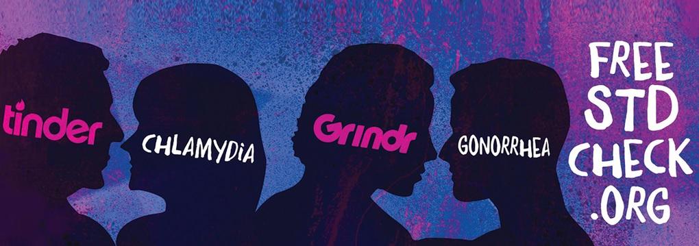 Tinder Grindr billboard