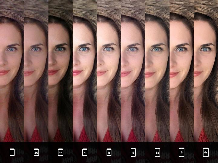 iPhone camera comparison test