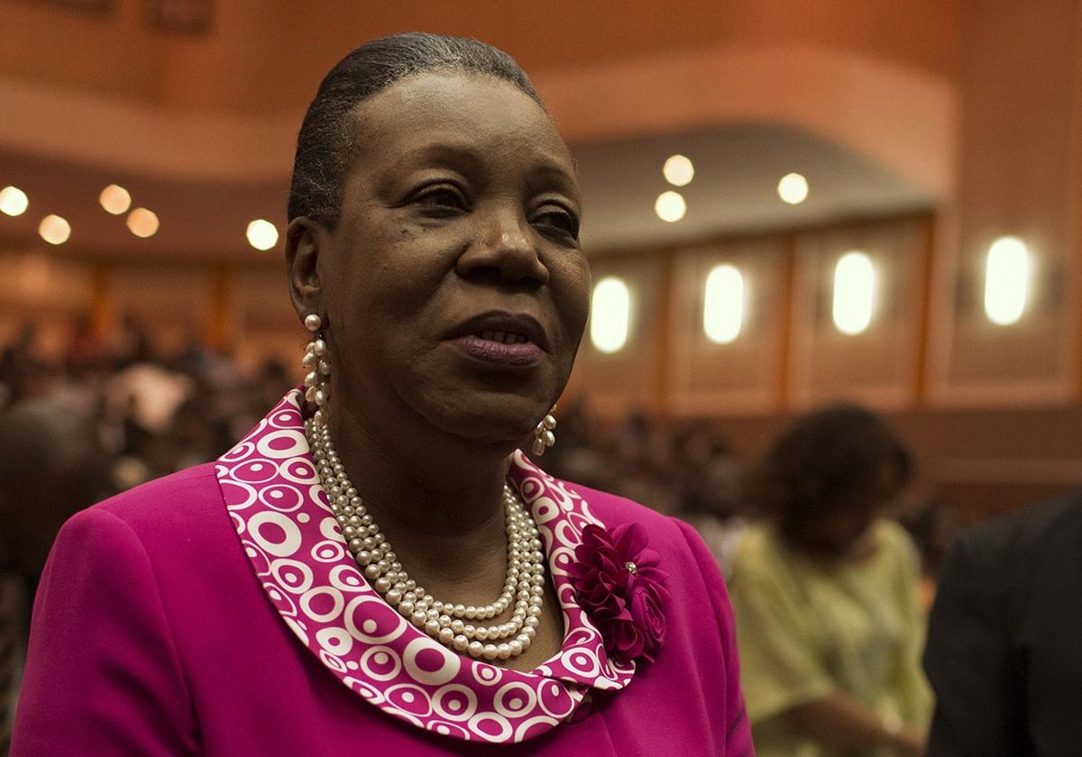 Central African Republic President Catherine Samba-Panza