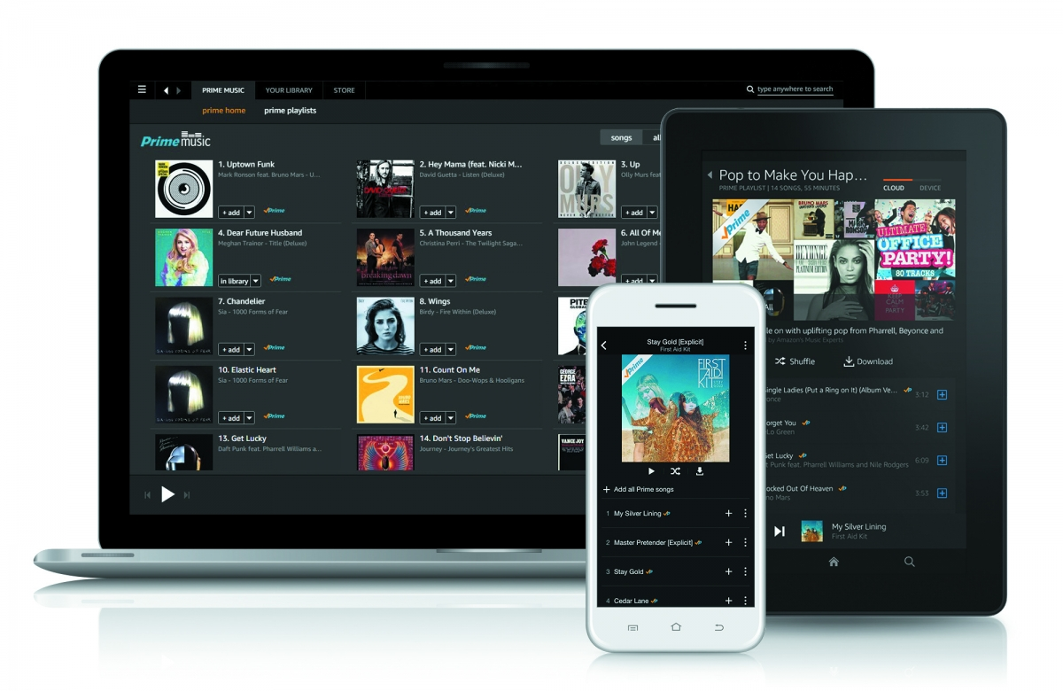 Amazon Prime Music to rival Spotify