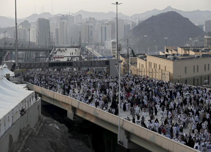 Muslim Pilgrims Mecca