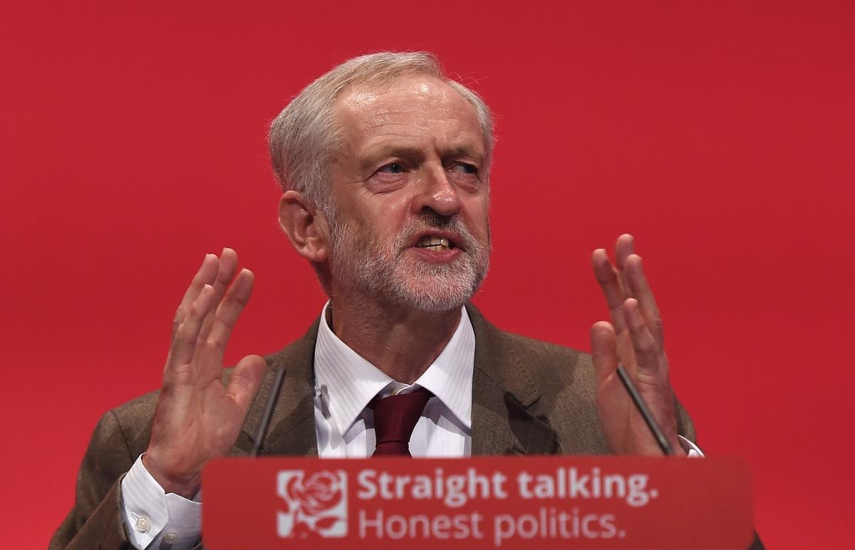 Jeremy Corbyn's speech in Brighton