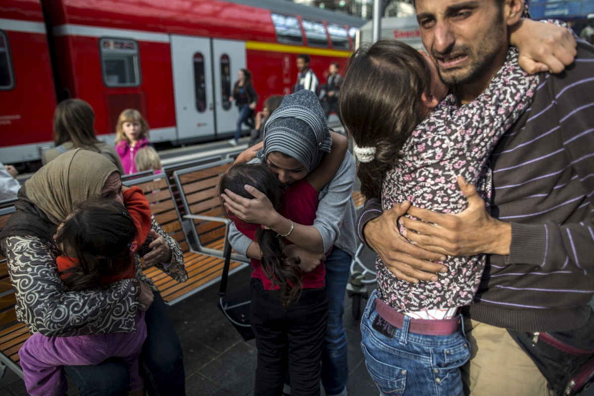 Syrian refugees Germany