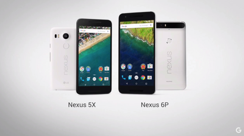 Nexus 5X and Nexus 6P