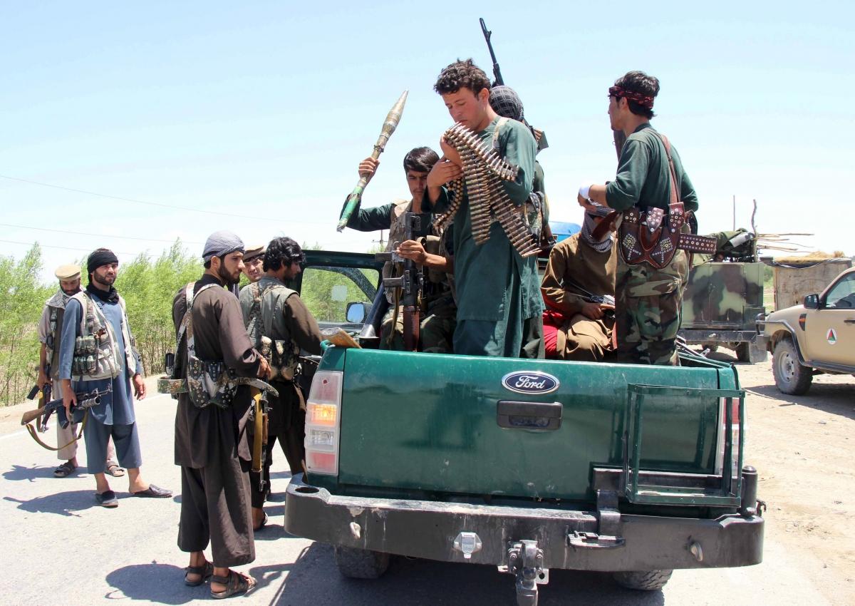 Afghanistan Taliban Faryab offensive