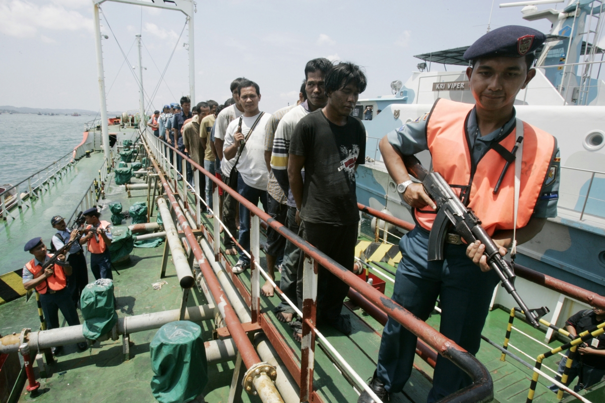 Piracy in Indonesia