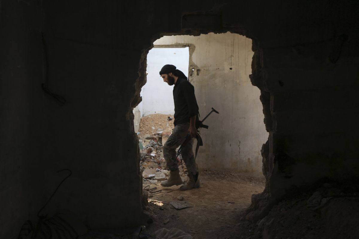 US-trained fighters in Syria