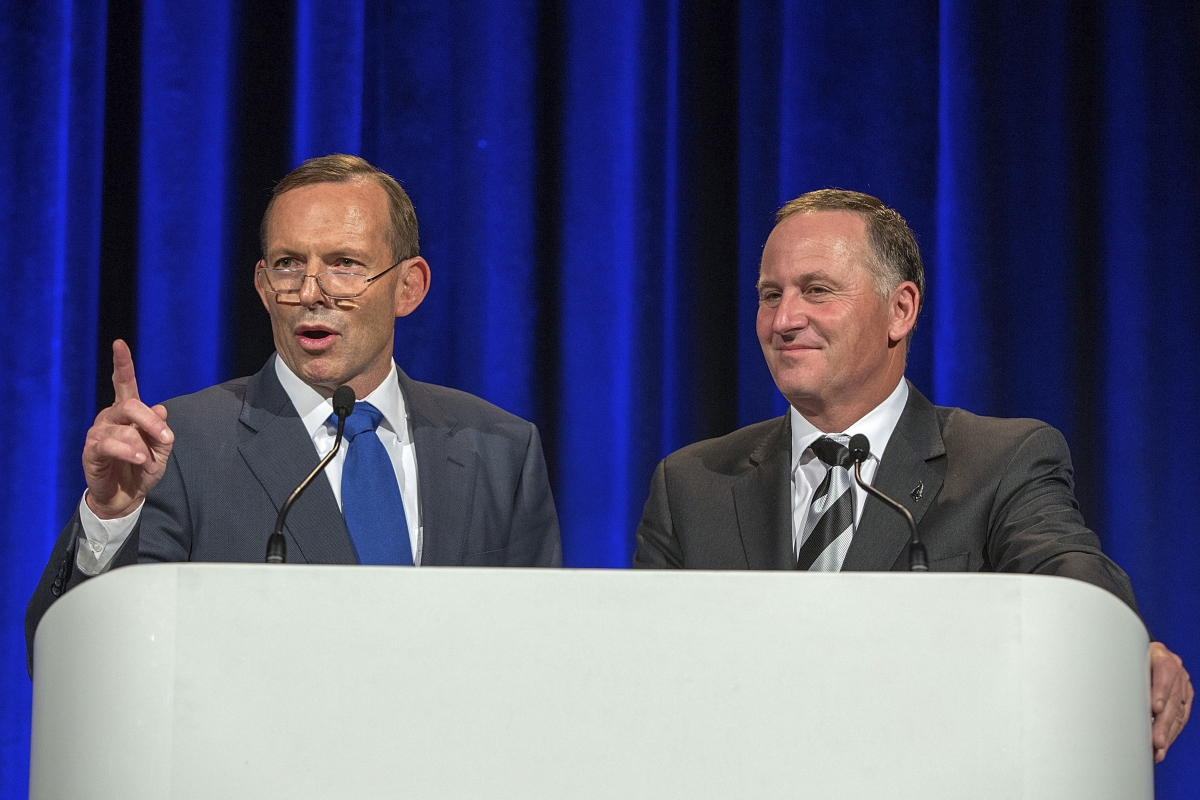 Tony Abbott & John Key