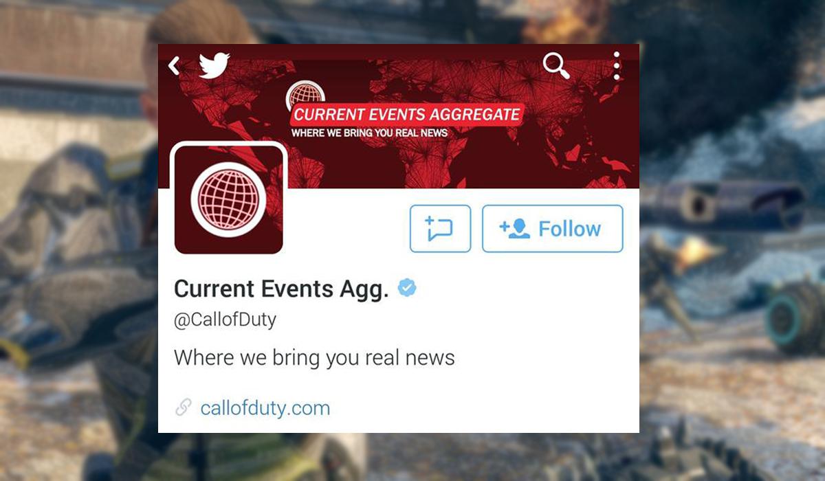 Call of Duty Twitter Terrorist Attack