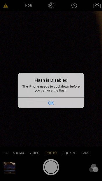 iPhone 6s overheating issues