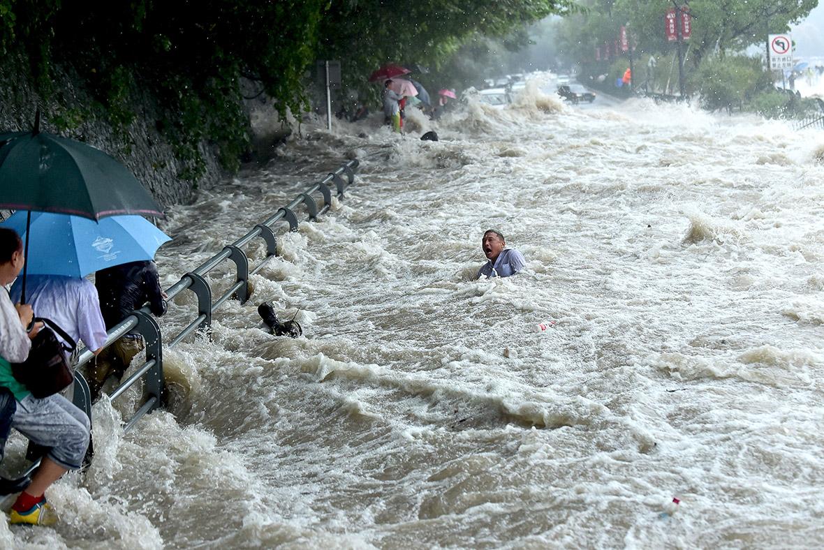 Typhoon Dujuan China