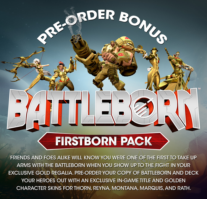 Release date of Battleborn for PS4, Xbox One and PC announced, pre-orders currently live
