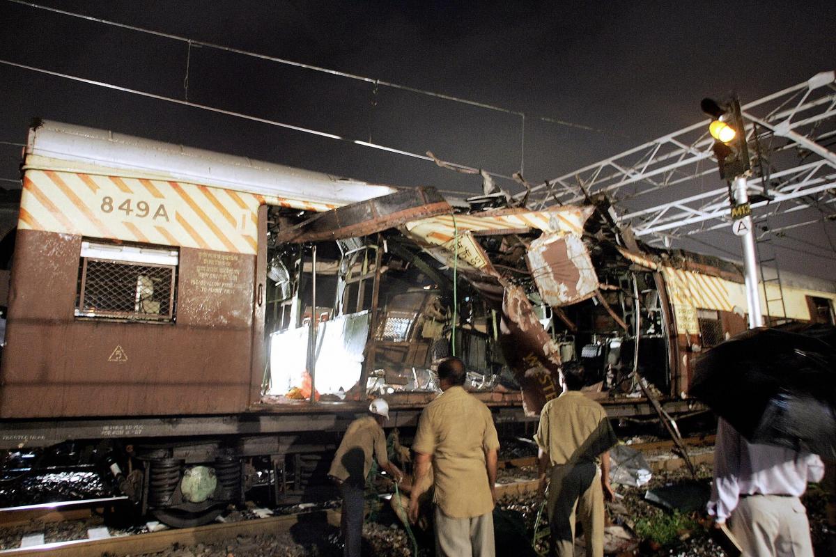 Mumbai train bomb 2006