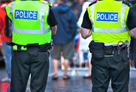 crime arrest police britain