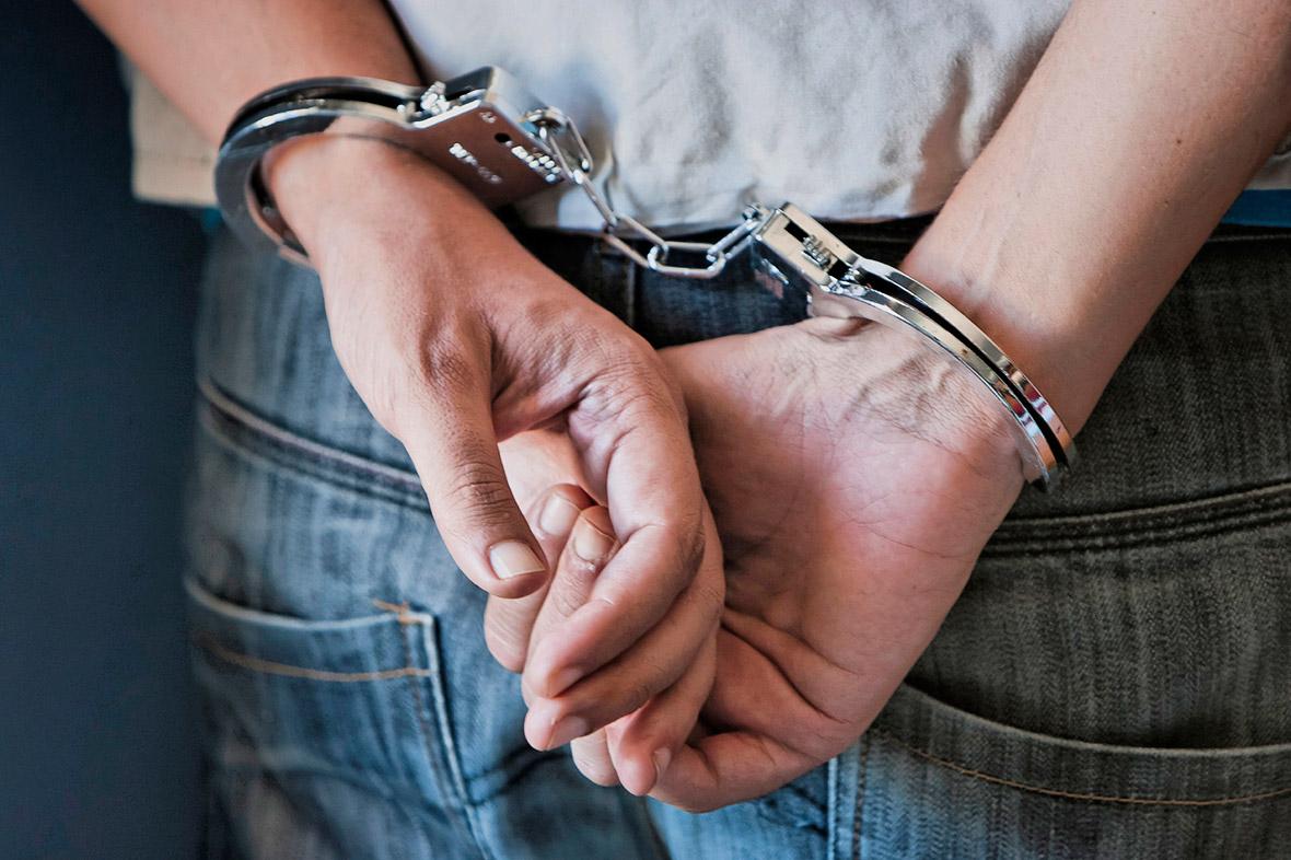 crime arrest police britain