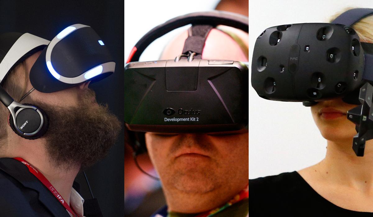 Virtual Reality VR PlayStation Vive Oculus