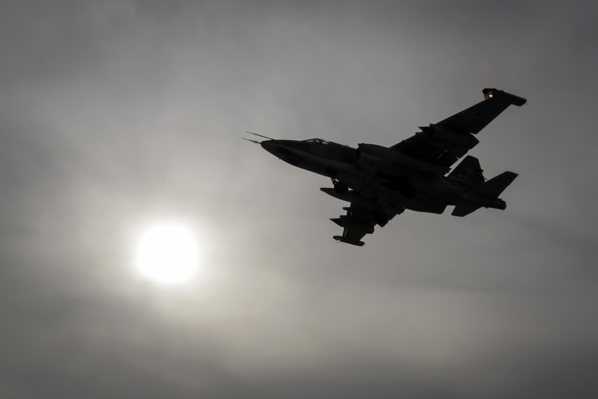 Russia jets Syria