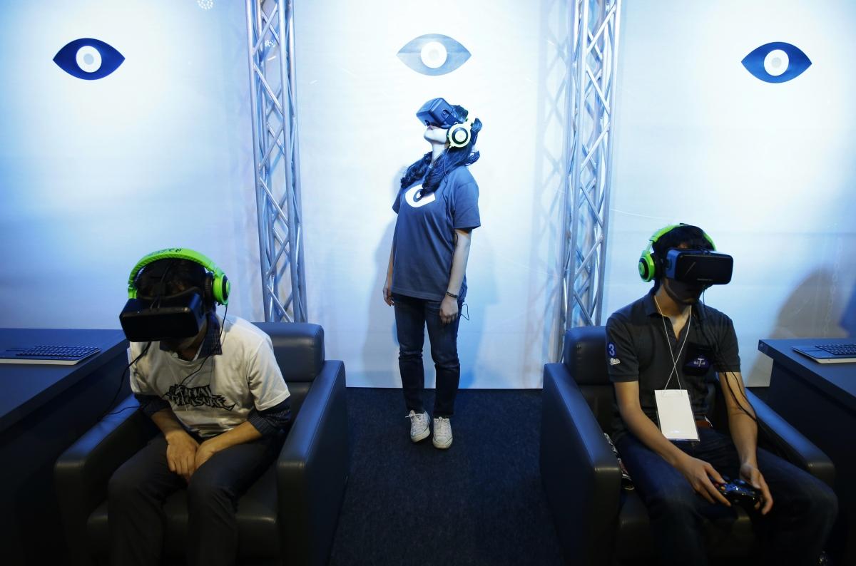 oculus vr oculus rift virtual reality