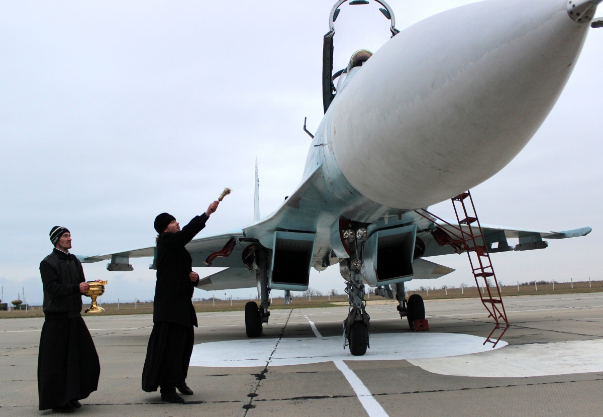 Russia Orthodox Church Syria air strikes