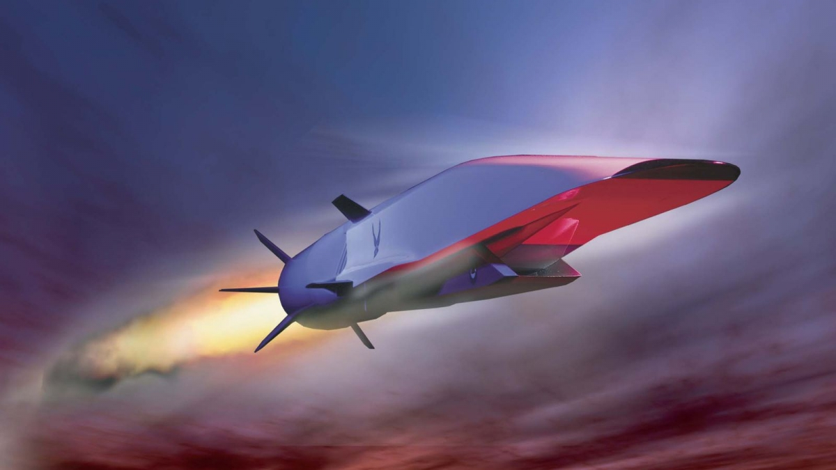 X-51 WaveRider hypersonic jet