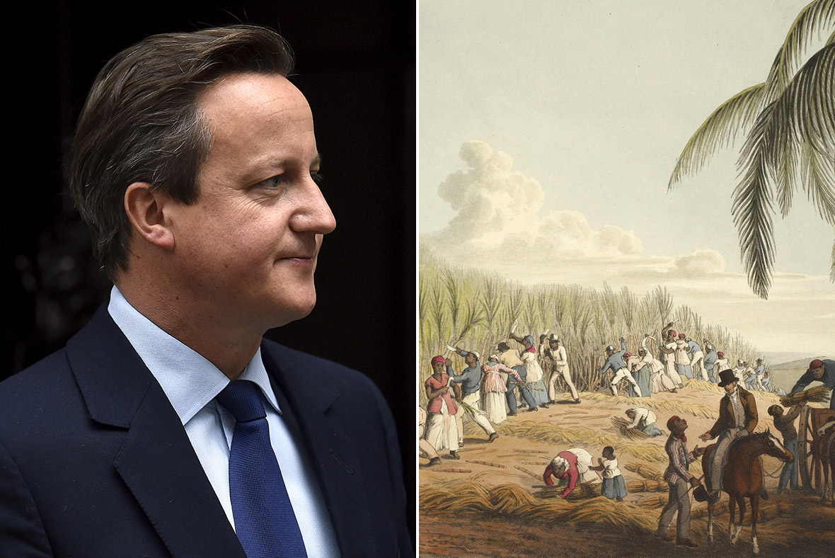 David Cameron slavery