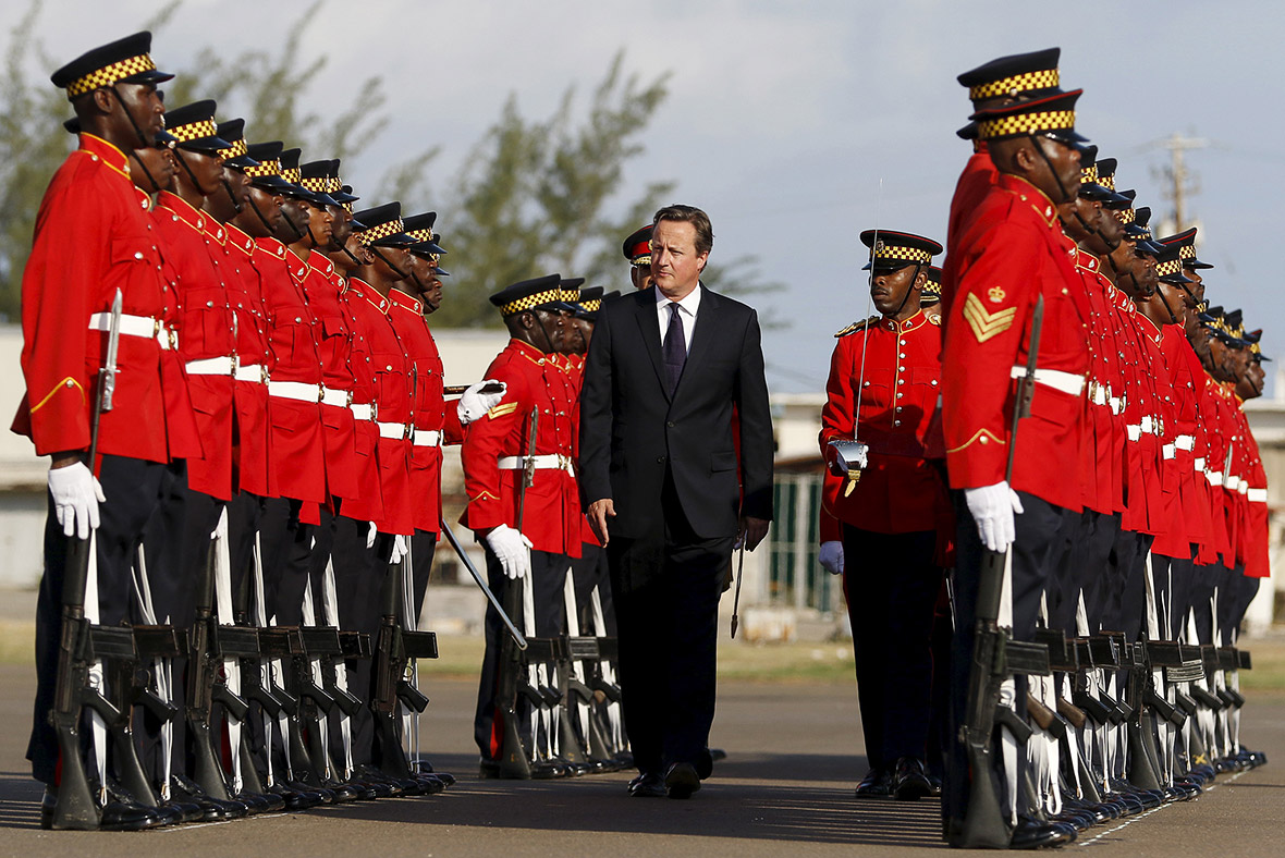 David Cameron Jamaica