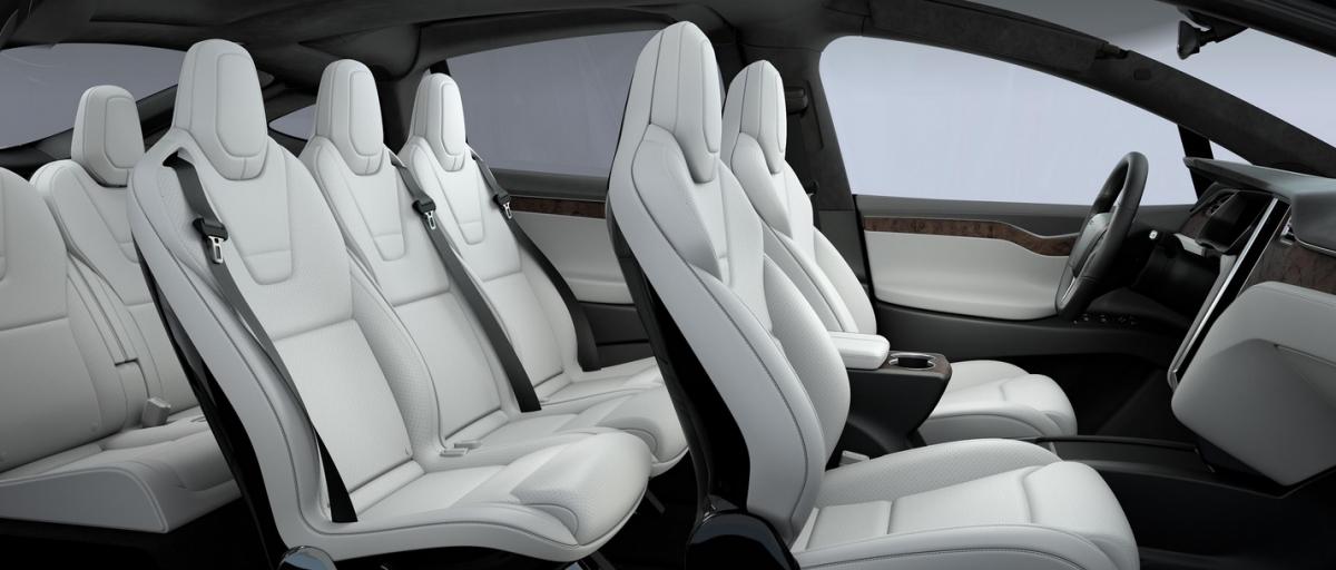 Tesla Model X seats