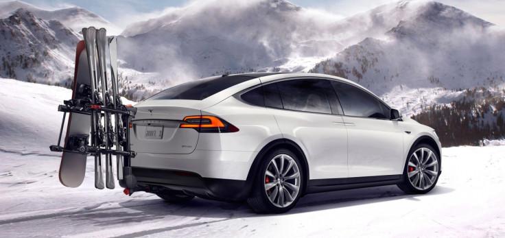 Tesla Model X space