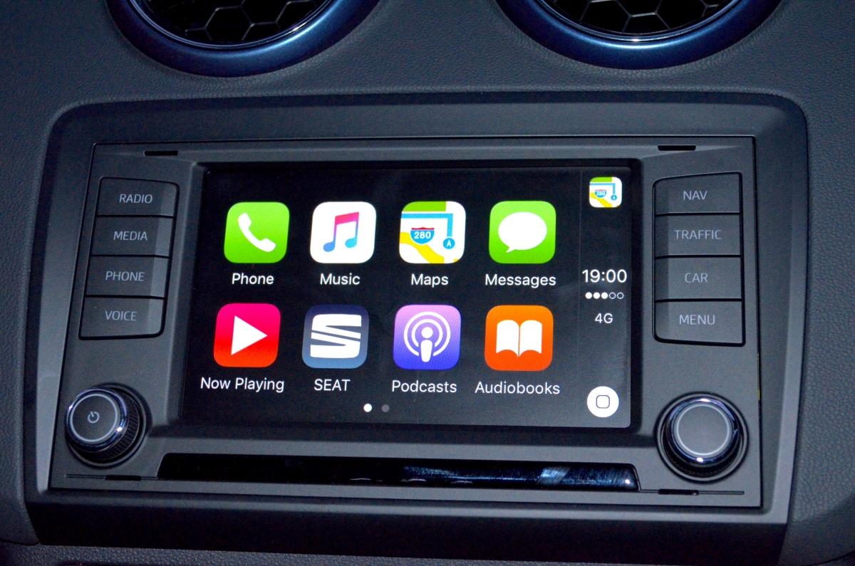 Apple CarPlay in Seat Ibiza