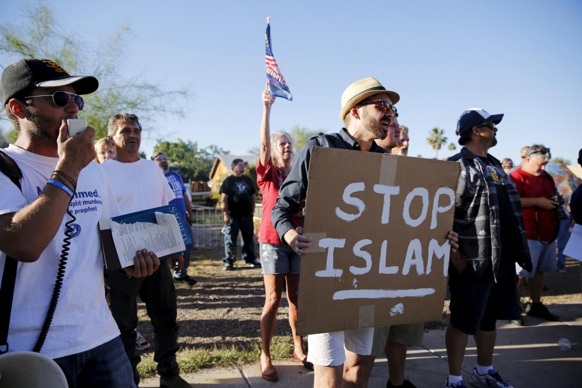 Anti-Muslim rally