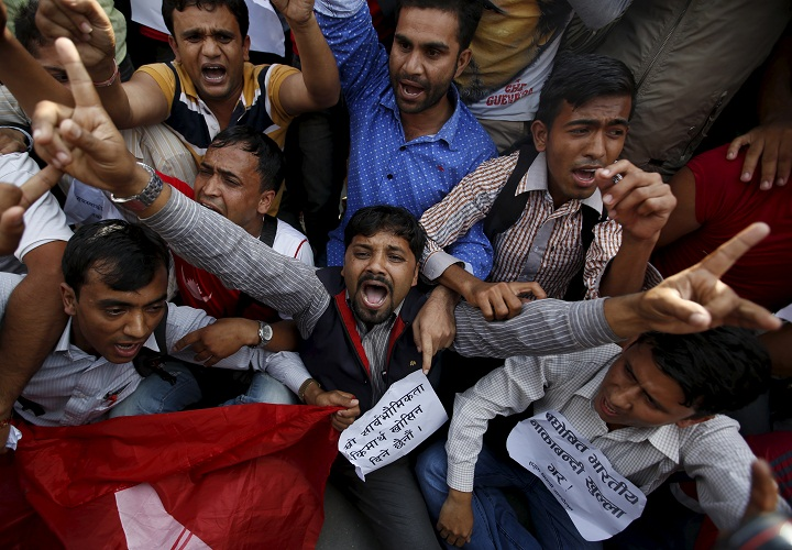 Anti-India protests in Nepal