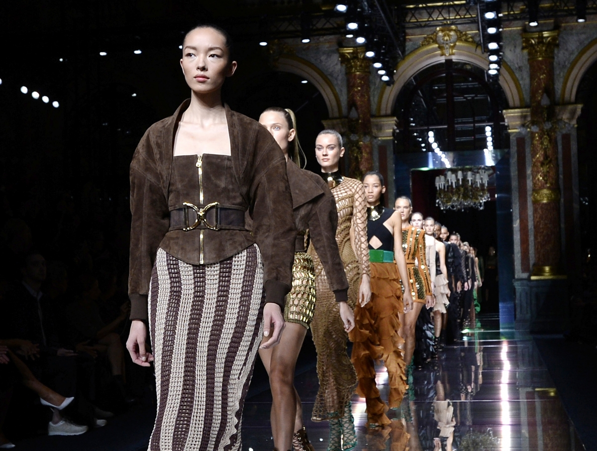 Balmain Paris Fashion Week