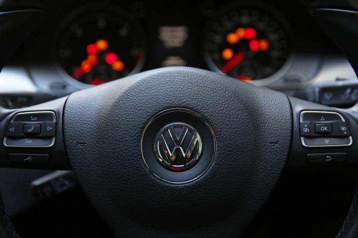 Steering wheel, VW Passat TDI