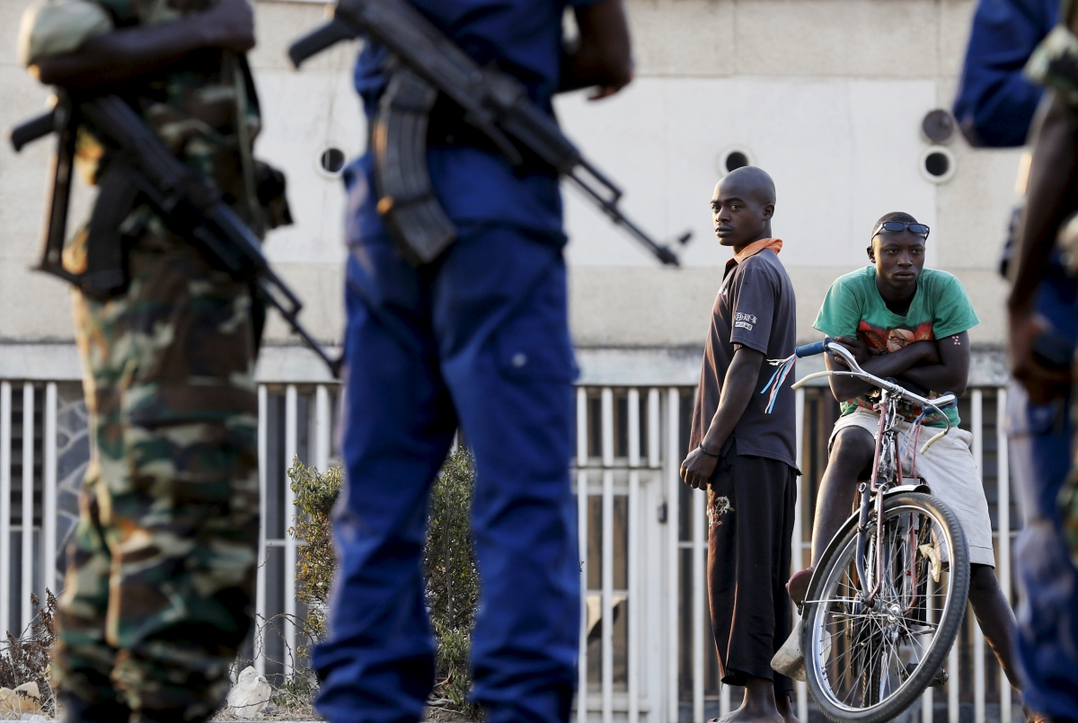 Burundi's security forces