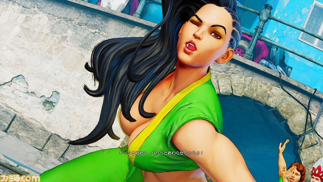 Street Fighter 5 Laura