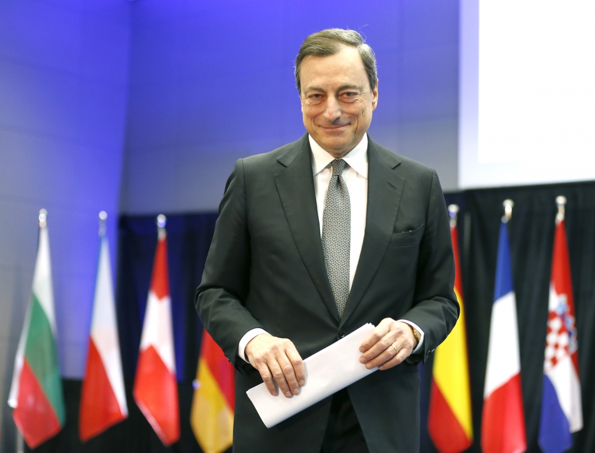 Mario Draghi, head of ECB