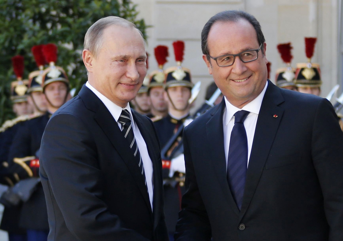 Hollande Putin