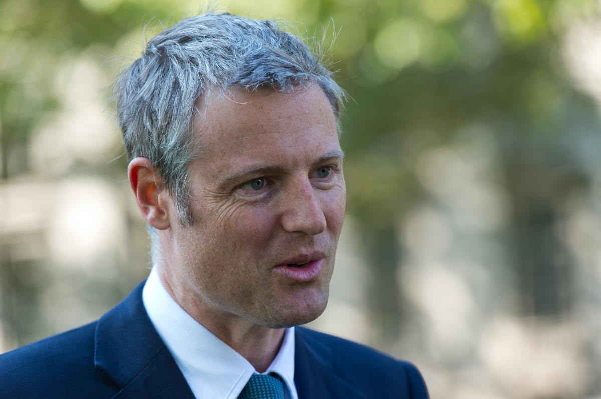 London mayoral candidate Zac Goldsmith