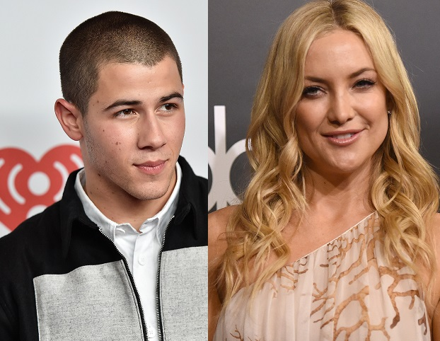 Nick Jonas and Kate Hudson