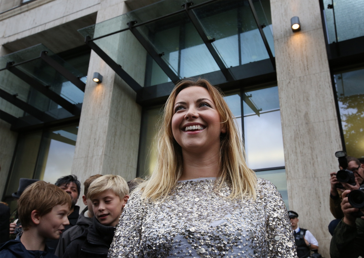 Charlotte Church protests Arctic drilling outside Shell