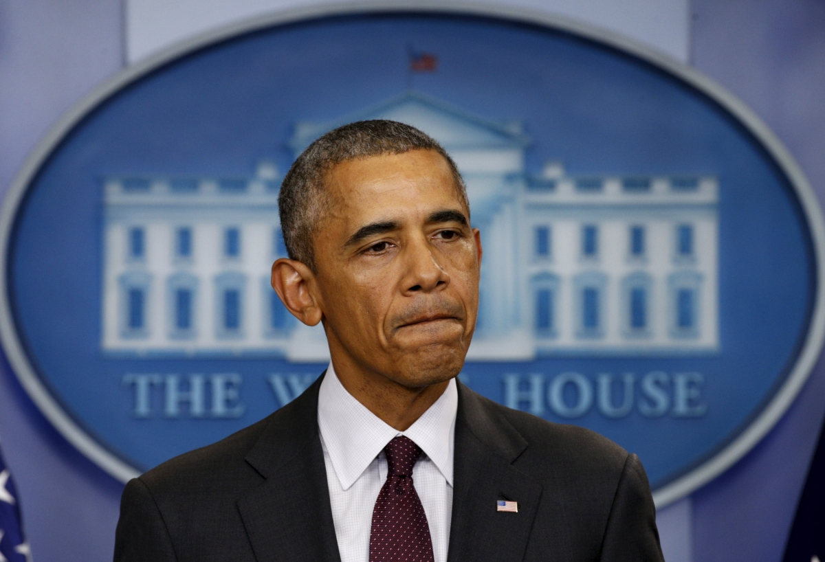 US President Barack Obama Oregon Shooting
