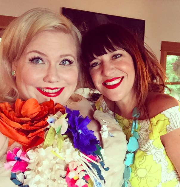 Amelia Bonow and Lindy West