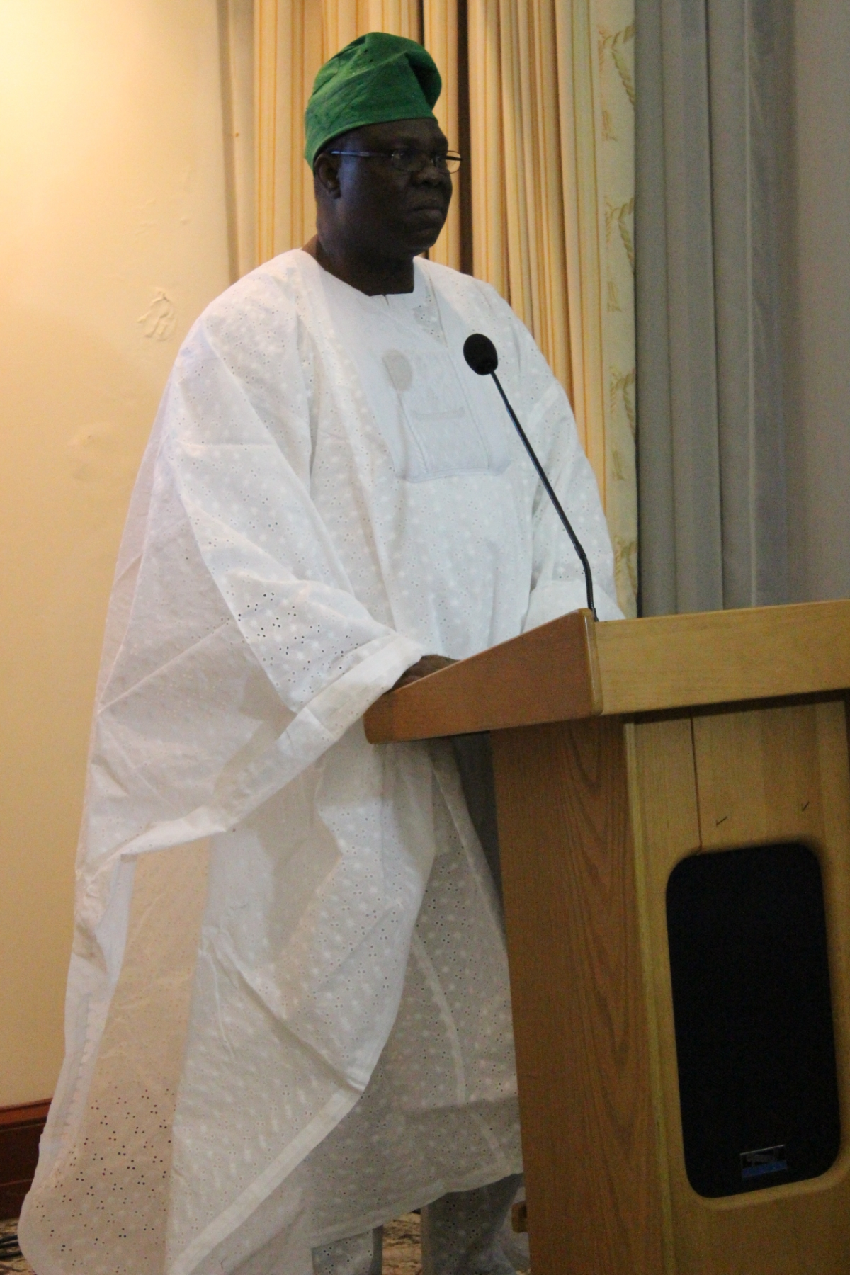 Nigerian acting high commissioner to the UKOlukunle Akindele Bamgbose