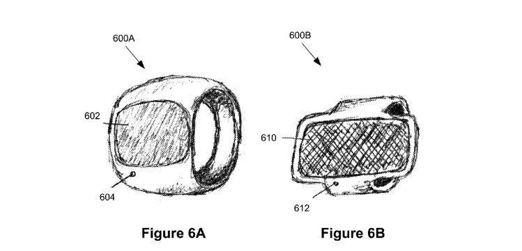 Apple Ring patent wearable