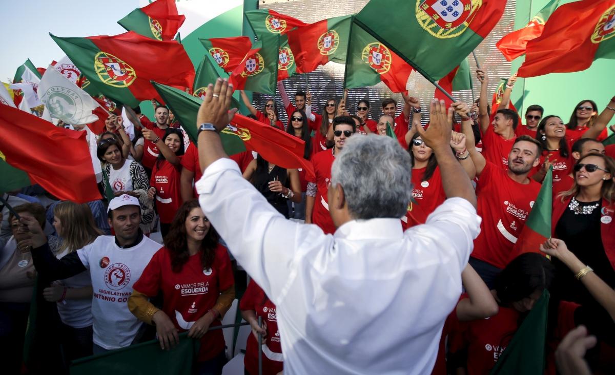 Portugal's Socialist leader Antonio Costa