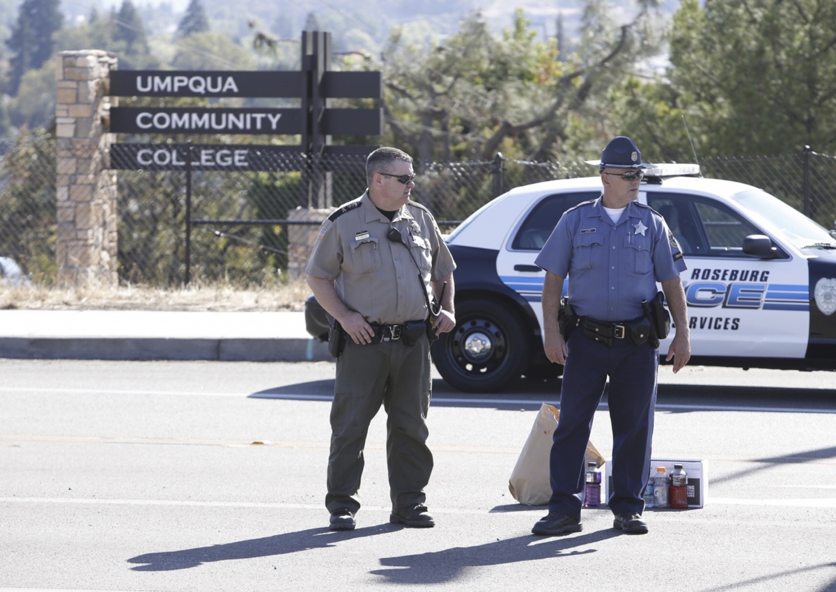 Oregon shooting
