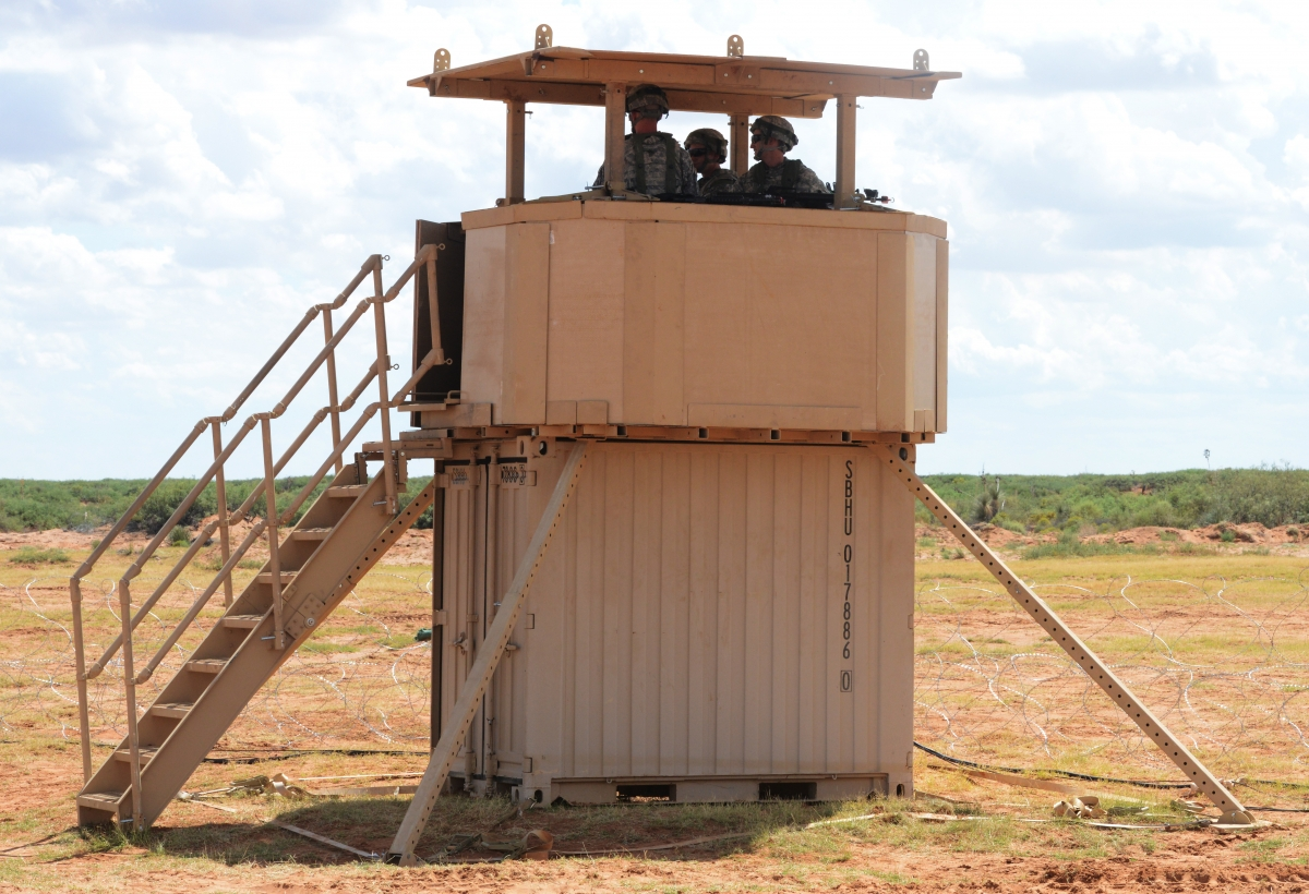 Another example of the containerised weapon system