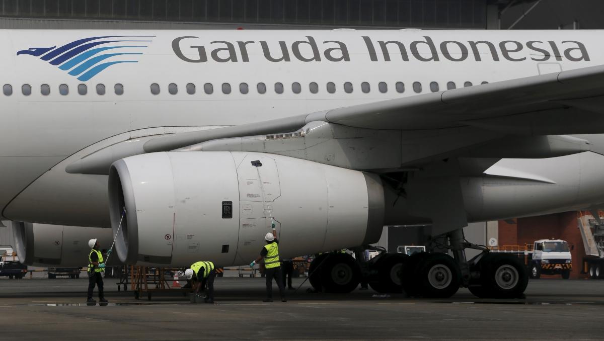 Garuda Indonesia Airbus A320, Jakarta