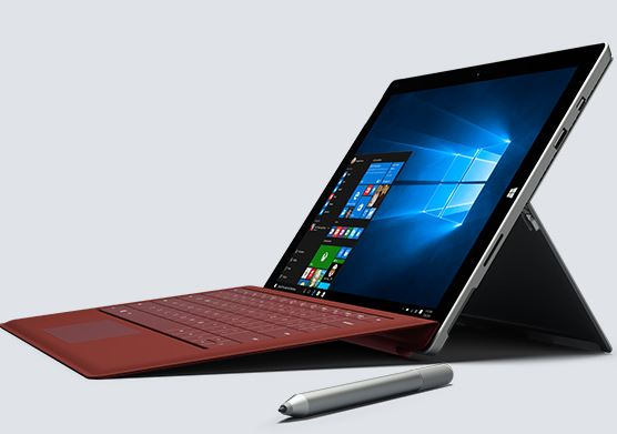 system firmware update surface pro 4