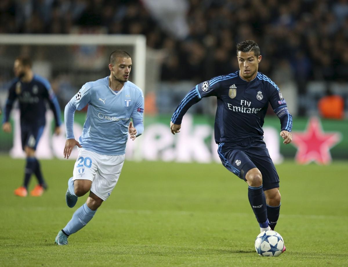 Vladimir Rodic & Cristiano Ronaldo